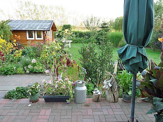 Nienhagen Garten a Ferienwohnung Möller Ref. 130116-1