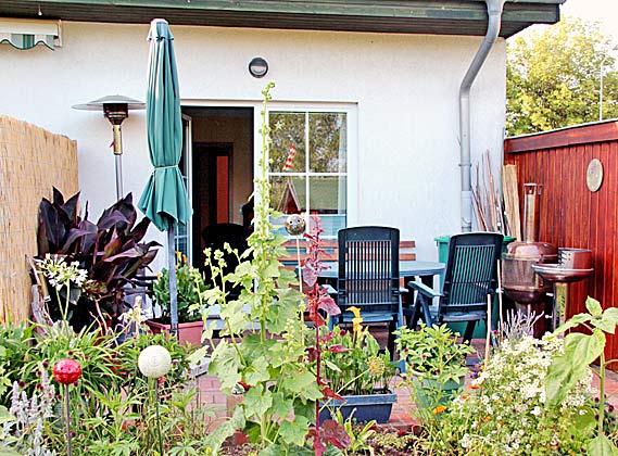 Nienhagen Terrasse Ferienwohnung Möller Ref. 130116-1