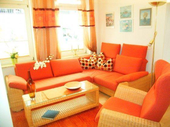 Ferienwohnung Warnemünde Wohnraum Ref 109908