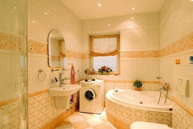 Ferienwohnung Warnemünde Badezimmer Ref 109908