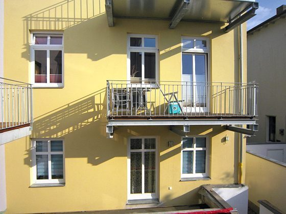 Warnemünde Ferienwohnung Balkon