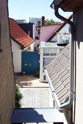 Blick über Warnemünde Ferienwohnung Steuermann Ref. 155702