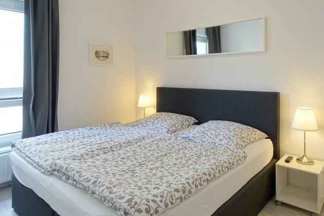 Schlafzimmer Ferienwohnung 13 am Kirchenplatz Ref. 216098-1