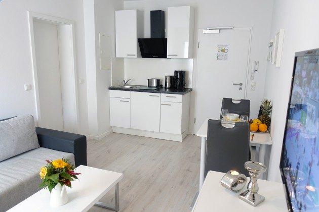 Küchenzeile Ferienwohnung 13 am Kirchenplatz Ref. 216098-1