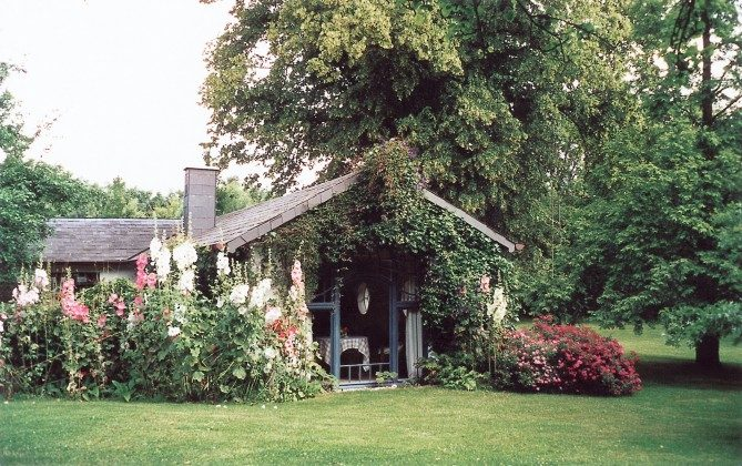 Refugium im Norden. Gartenhaus