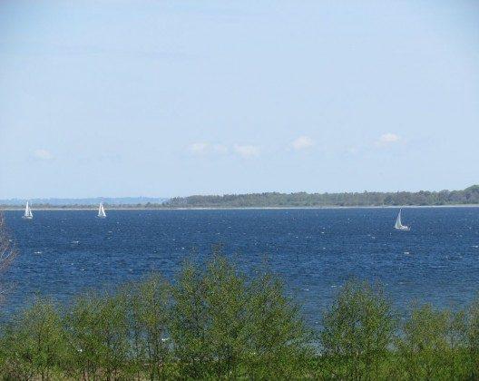 """Geltinger Bucht, mit """"etwas Wind"""""""