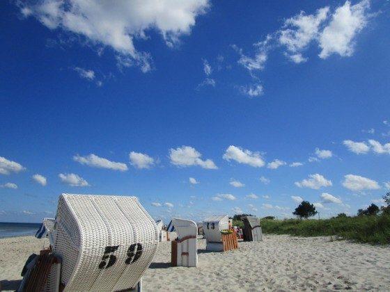Relaxen im Strandkorb zu jeder Tageszeit