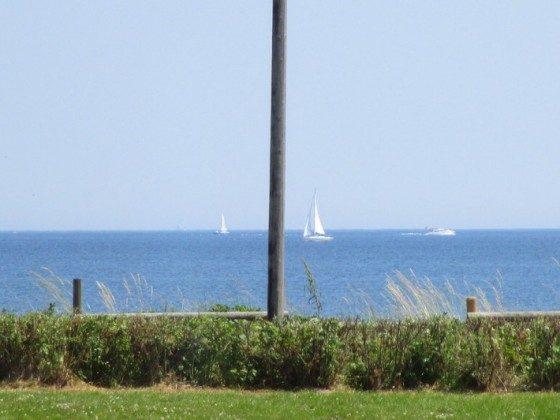 Segelboote auf dem Weg in die dänische Südsee
