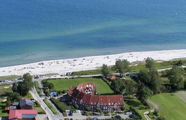 Appartements Godewind direkt am Ostseestrand