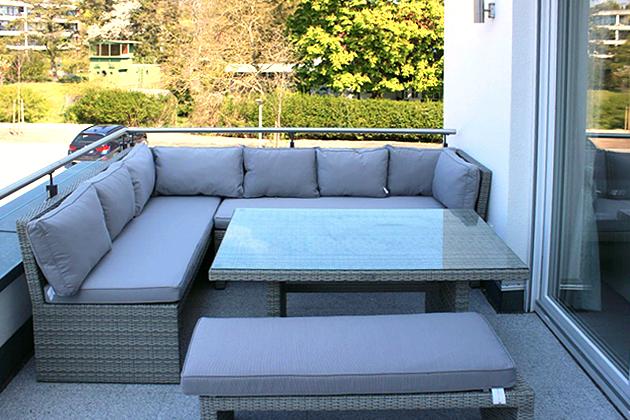 Ferienwohnung Ref. 109908-4 - Balkon mit Meerblick