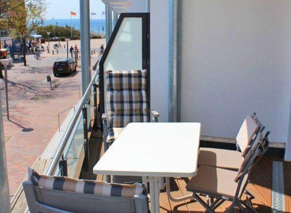 Ferienwohnung Ref. 109908-4 - Balkon 2
