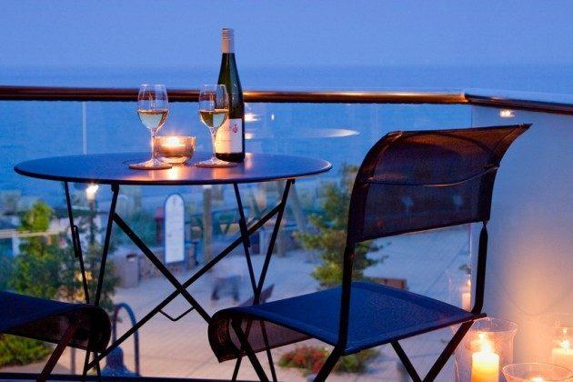 Balkon Scharbeutz Ferienwohnung an der Ostsee
