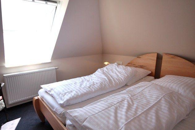 Schlafzimmer Scharbeutz Ferienwohnung an der Ostsee