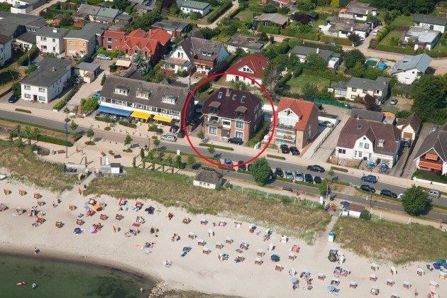 Luftaufnahme Haffkrug Scharbeutz Ferienwohnung