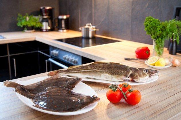 Küche Haffkrug Scharbeutz Ferienwohnung