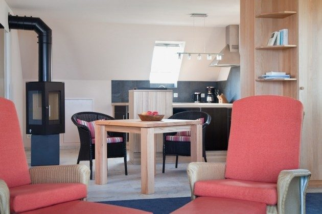 Wohnzimmer Haffkrug Scharbeutz Ferienwohnung