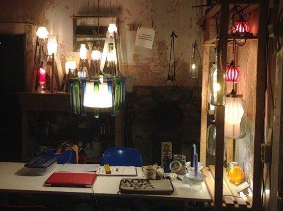Hauswerkstatt: Leuchtenbau