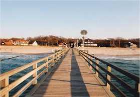 Ostsee Graal Müritz Ferienwohnung An der Seebrücke