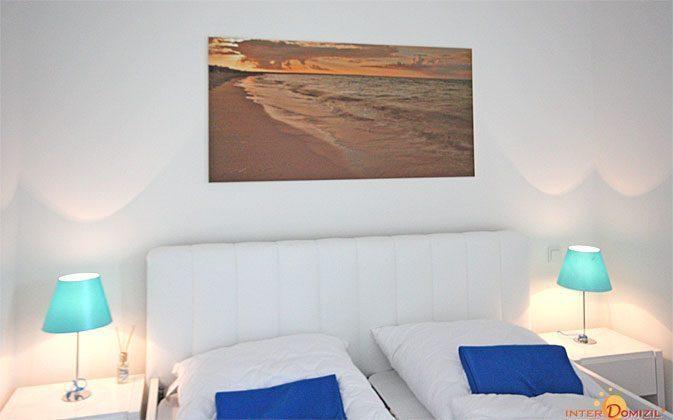 Schlafzimmer  Baabe Ferienwohnung Strandlöper C 2.02 Ref. 134796