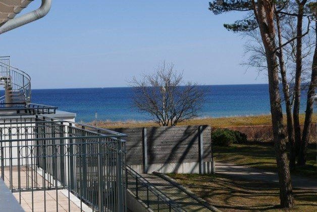 """Blick vom Balkon Ferienwohnungen Baabe """"Arkona"""" im Aparthotel Inselparadies"""