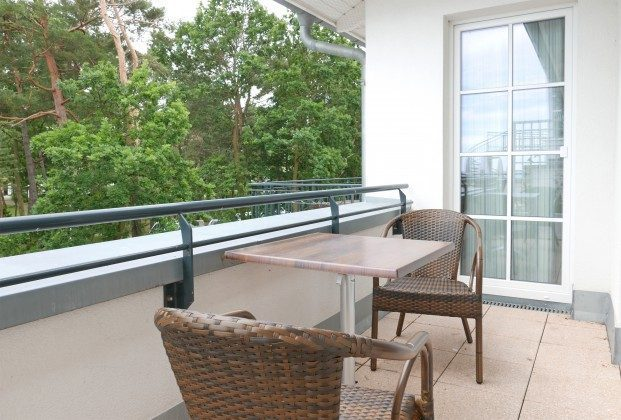 """Balkon der Ferienwohnung """"Mönchgut"""" im Aparthotel Inselparadies Ref: 185518-12"""