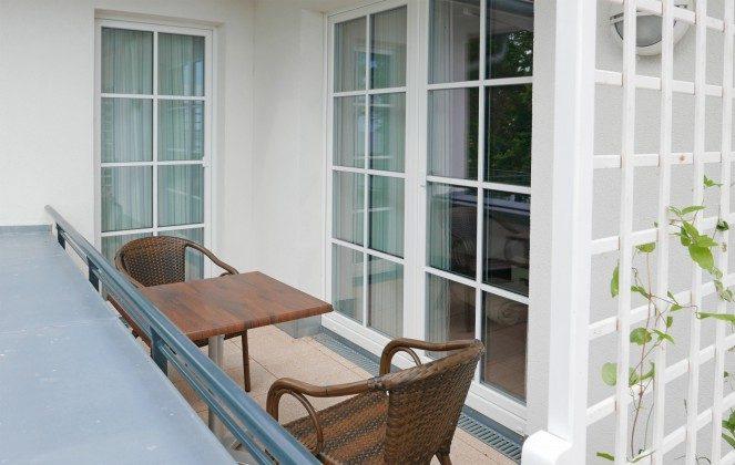 Balkon  Aparthotel Inselparadies