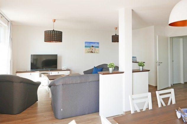Wohnbereich Rügen  Ferienwohnung Inselparadies Königsstuhl