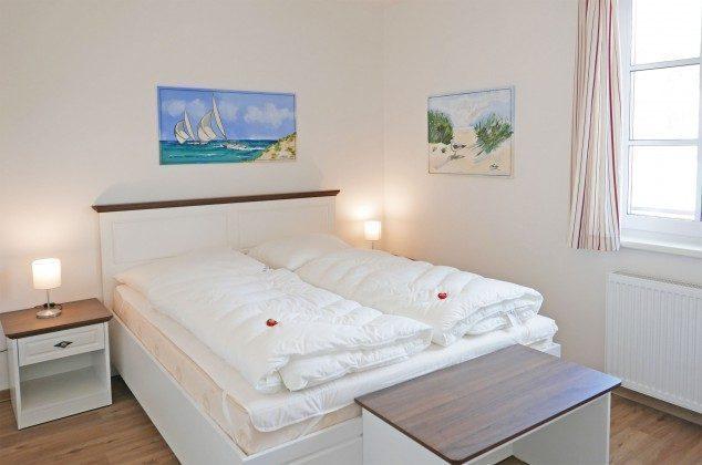 """Schlafzimmer Ferienwohnung """"Bernstein"""" im Inselparadies Ref: 185518-3 / W"""