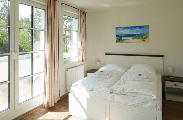 """Doppelschlafzimmer 1 Ferienwohnung Baabe """"Sandbank"""" Ref: 185518-5 / W"""