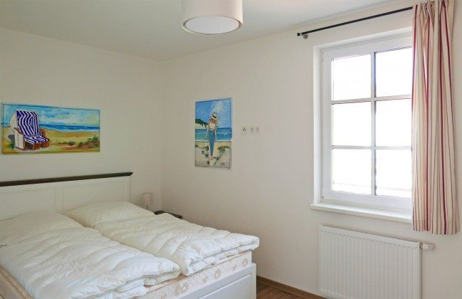 """Doppelschlafzimmer 2 Ferienwohnung Baabe """"Sandbank"""" Ref: 185518-5 / W"""