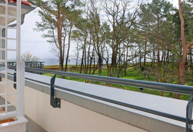 """Blick vom Balkon Ferienwohnung  Baabe """"Lohme"""" im Inselparadies Ref: 185518-8 / W"""