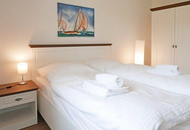 """Schlafzimmer Ferienwohnung  Baabe """"Lohme"""" im Inselparadies Ref: 185518-8 / W"""