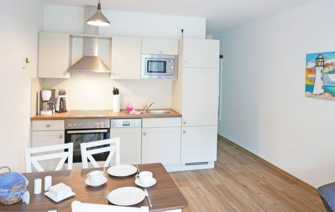 """Küchenbereich  Ferienwohnung Rügen Baabe """"Jasmund"""