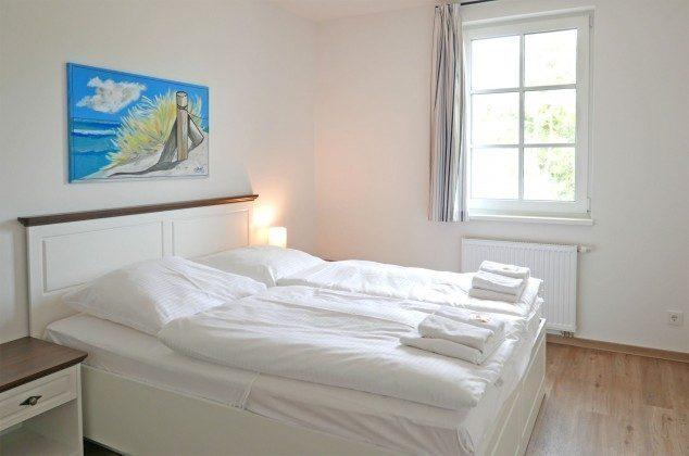 """Schlafzimmer  Ferienwohnung Rügen Baabe """"Jasmund"""