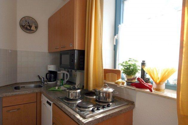 Küchenbereich Sellin Neuensiener See Apartment 1 Ref. 201662-1