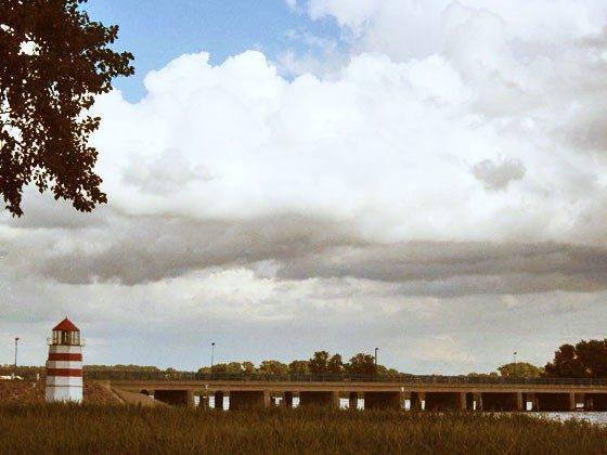 Brücke nach Ummanz Mursewiek Ferienwohnungen Ref. 156267-1