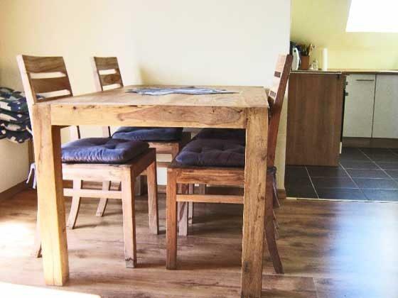 Essbereich Wohnung 1 Mursewiek Ferienwohnungen Ref. 156267-1
