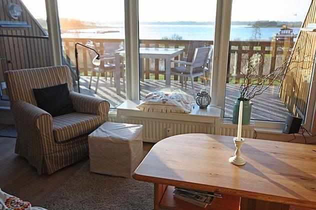 Blick auf Schlei vom Wohnzimmer Ferienwohnung 137109