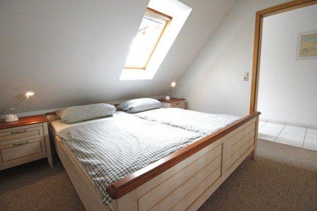 Schlafzimmer unten Schlei / Stexwig Ferienwohnung