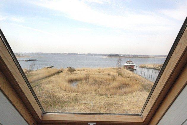 Blick aus dem Fenster von oben