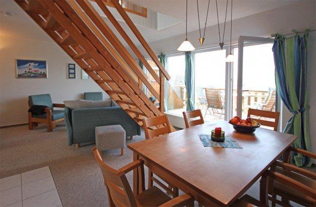 Wohnzimmer Schlei / Stexwig Ferienwohnung
