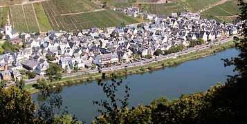 Mosel Weingut Moselhof - Panoramablick
