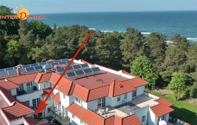 Lage im Haus Meeresblick Strandidyll A 1.06 Ref. 128659-2