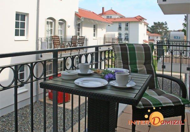 Balkon Meeresblick Ferienwohnung Strandidyll A 1.06 Ref. 128659-2