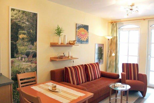 Wohnbereich Baabe Ferienwohnung Seeterrasse Ref. 128664