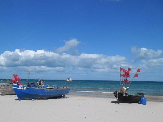 Am Strand in Baabe auf Rügen Ref. 128664