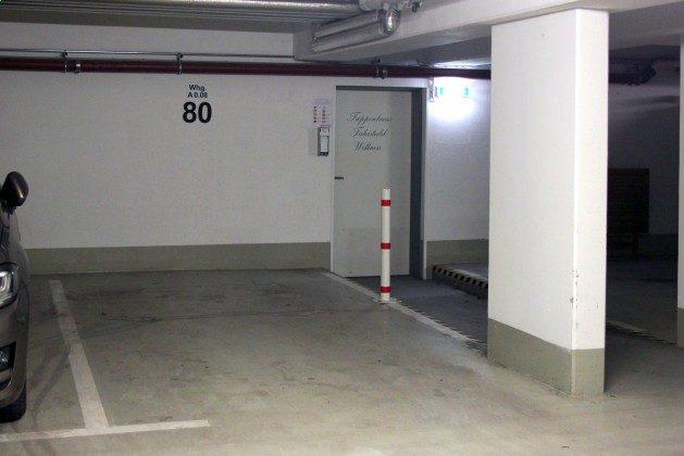Tiefgaragenstellplatz Nr. 80
