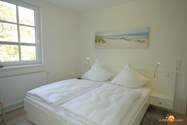 Schlafzimmer 1 Baabe Haus Meeresblick Fewo Strandwohnung mit Meerblick Ref. 128668