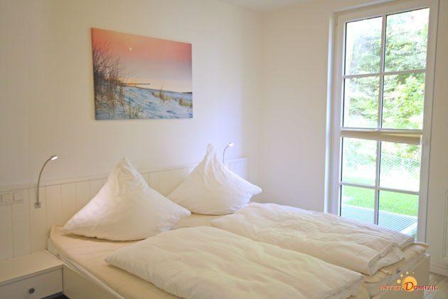 Schlafzimmer 2 Baabe Haus Meeresblick Fewo Strandwohnung mit Meerblick Ref. 128668