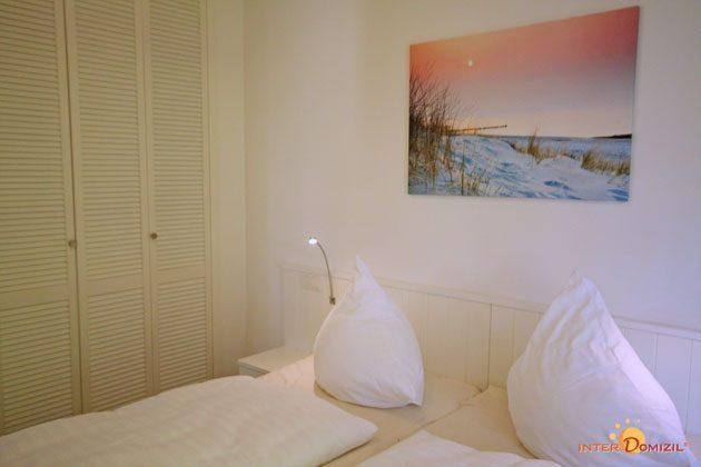 Schlafzimmer 2 Baabe Ferienwohnung Strandwohnung mit Meerblick Ref. 128668